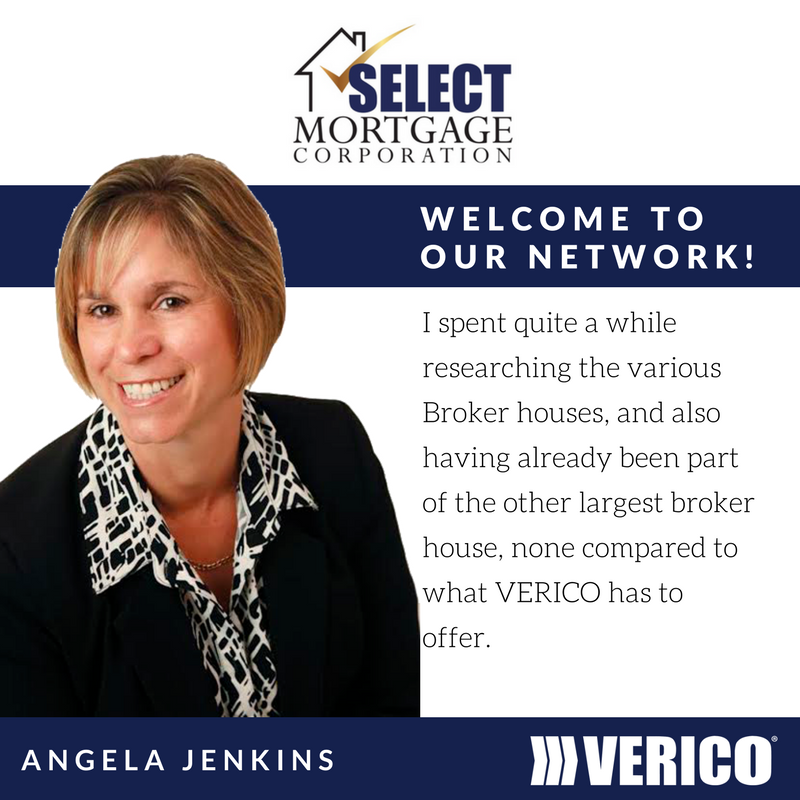 VERICO welcomes Angela Jenkins