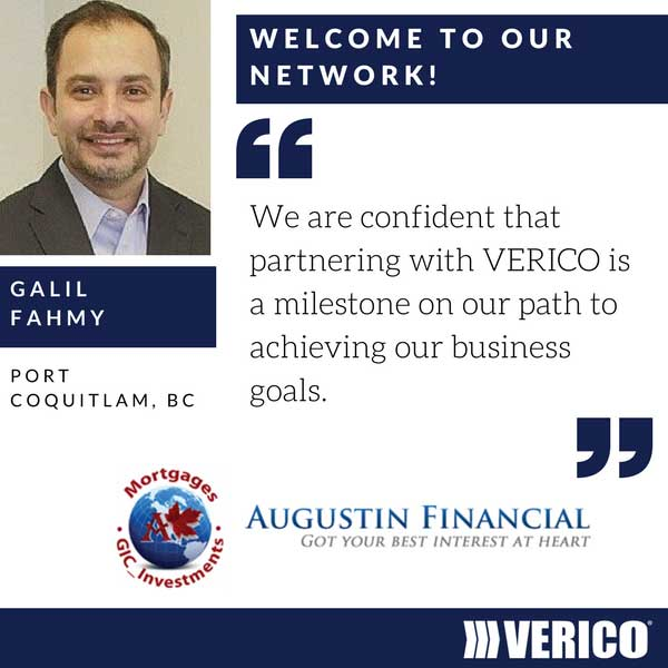VERICO Welcomes Galil Fahmy
