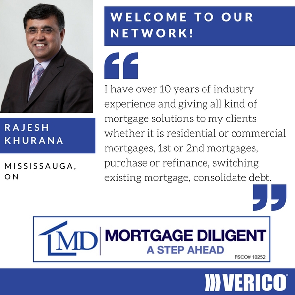 VERICO welcomes Mortgage Diligent