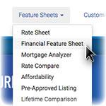 Financial Feature Sheet