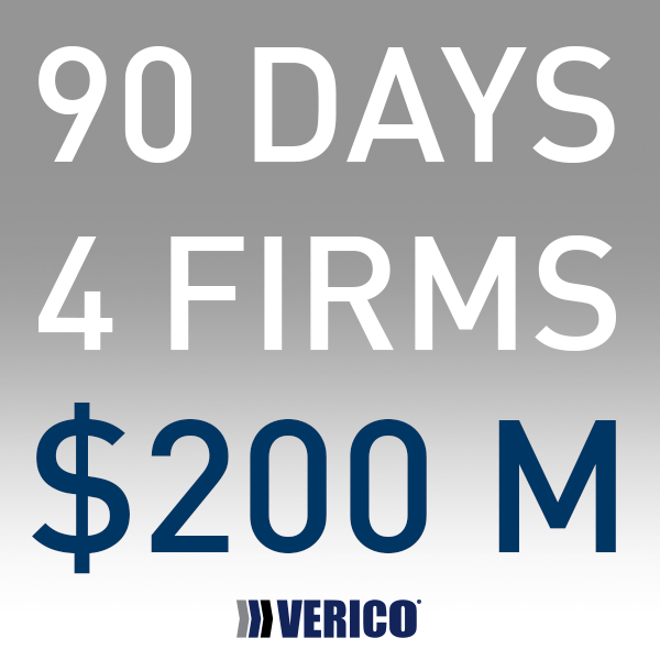 $200 Million in 90 Days