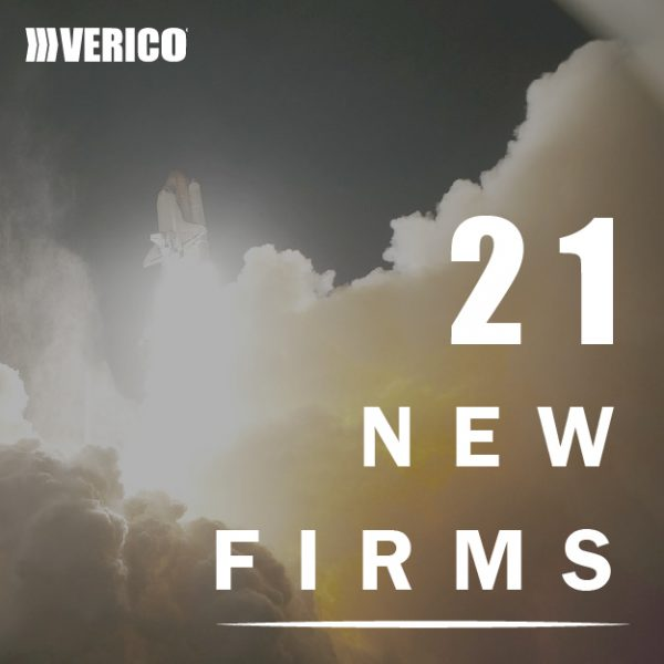 Spectacular Growth for the VERICO Network with 21 new member firms in 12 months