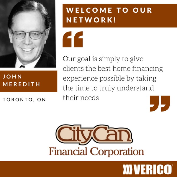 VERICO Canada welcomes CityCan Financial and father and son owners John and Paul Meredith