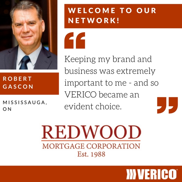 VERICO welcomes Redwood Mortgages